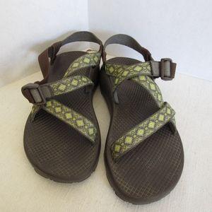 CHACO Woman's Sport Sandal Classic SZ 7 Green